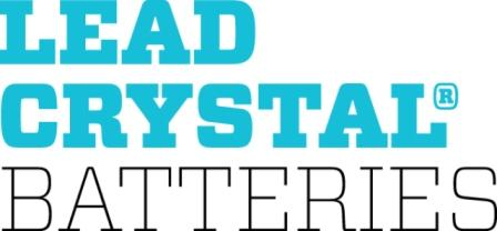Lead crystal batteries